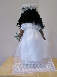 Regency Wedding Dress back - Penny Tennermann