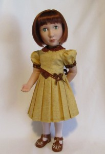 """Here is Clemmie sporting the other view from """"Bodice Details""""... just perfect for her!"""