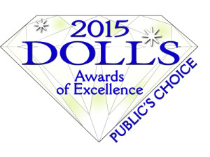 Lydia has been nominated for Play Doll of the Year, but we will need your vote to win.  Click Here to place your vote!
